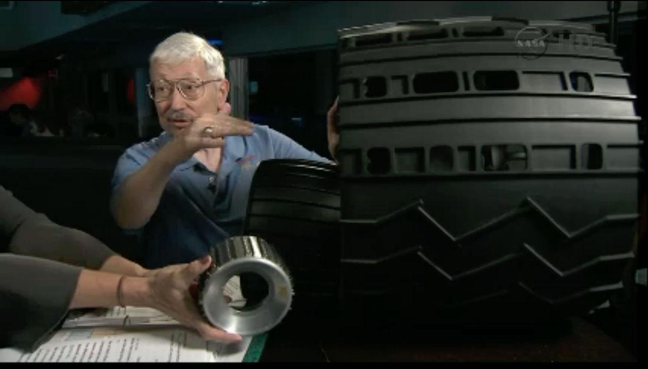 Theisinger Displays Rover Wheels