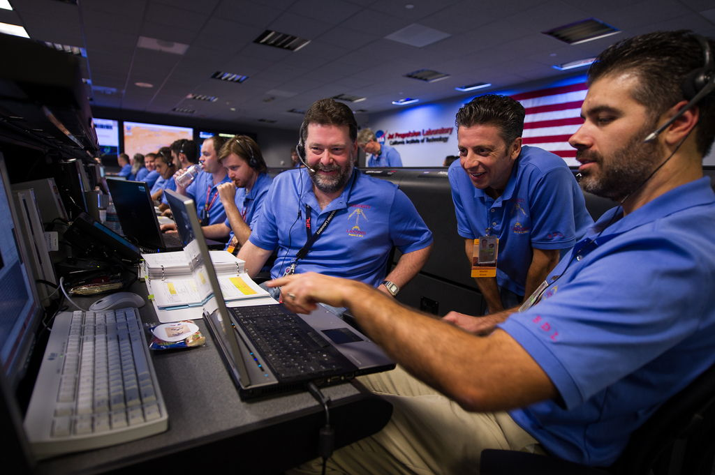 MSL Team Members at JPL