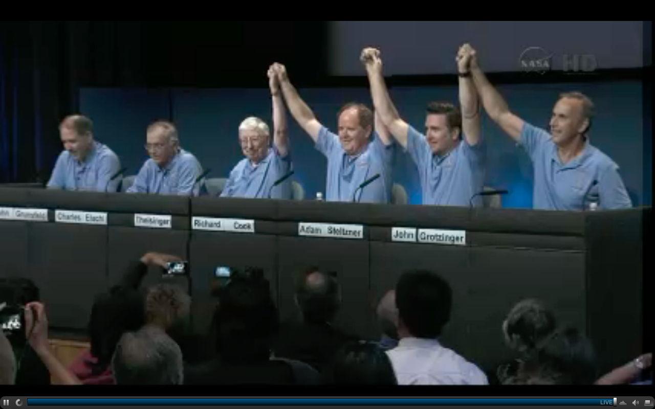 NASA's Amazing Mars Rover Curiosity Landing