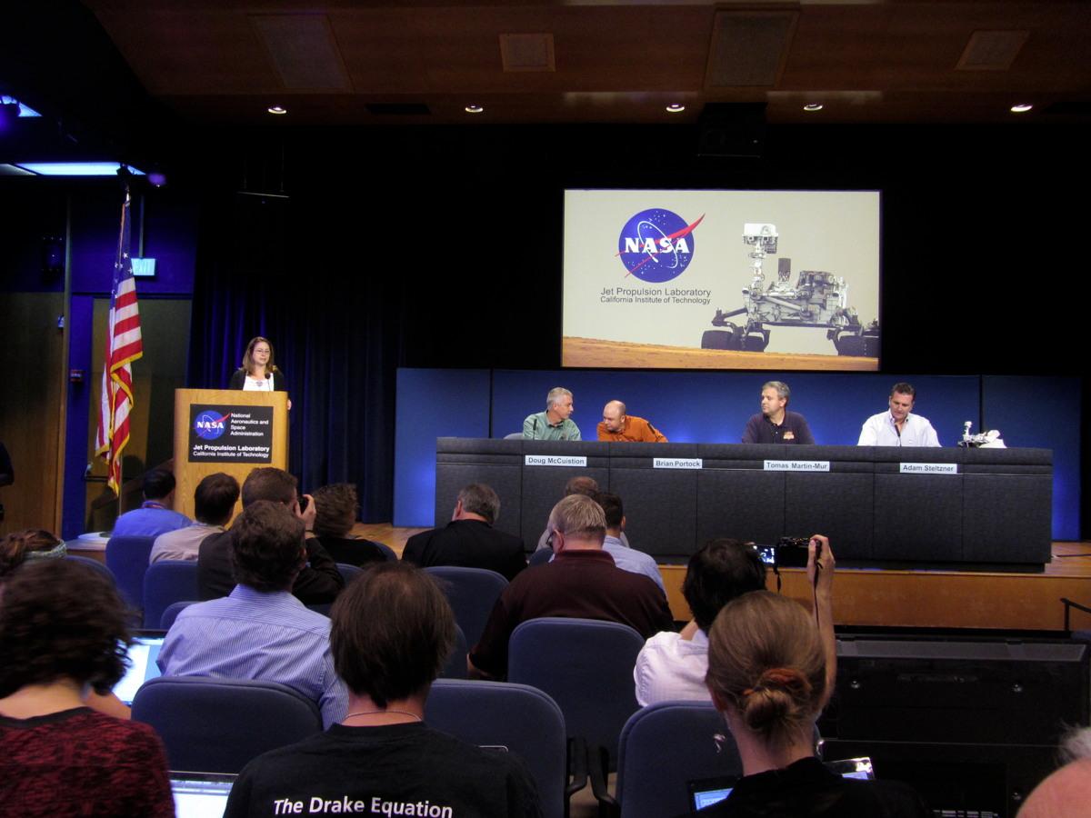 Pre-Landing Press Conference