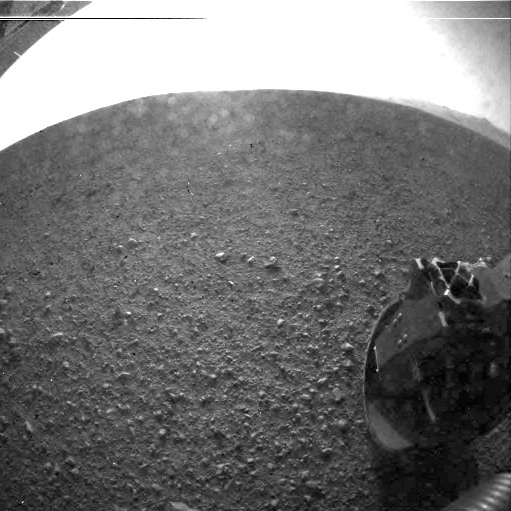 NASA Rover's 1st Photos of Mars Reveal Unexplored Terrain