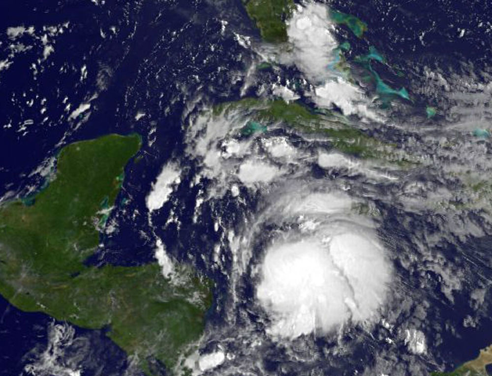 Ernesto Spotted by Satellite, Could Become Hurricane