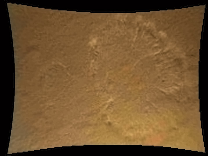 Mars Rover Photographs Mars Surface Dust Swirls