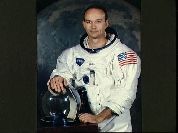 Michael Collins, command module pilot on Apollo 11