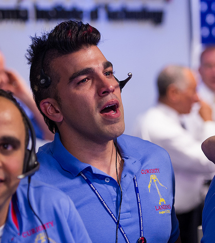 Mars Rover Celebrity: Q & A with 'Mohawk Guy' Bobak Ferdowsi