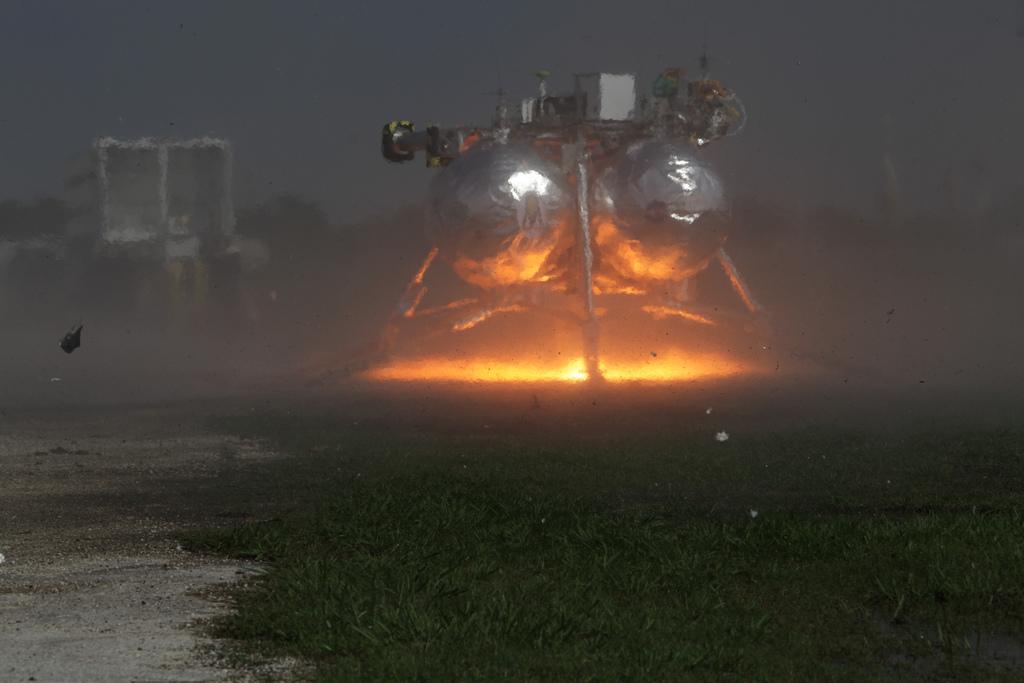 Morpheus Ground Level Hot Fire