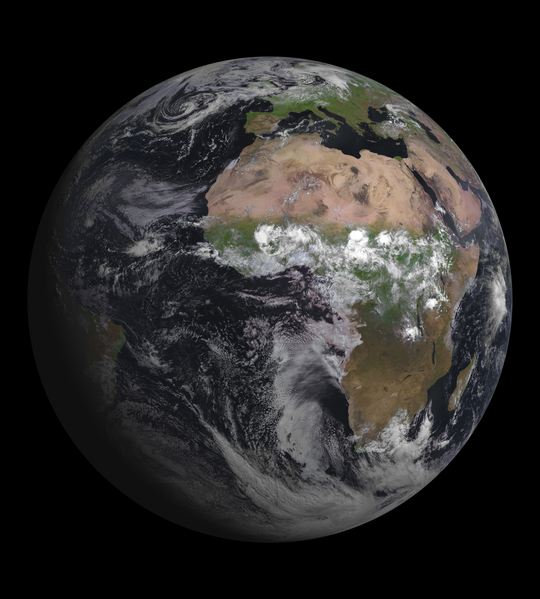 Beautiful Earth Image Is Satellite's First