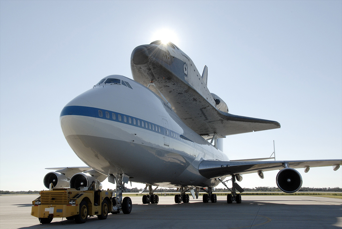NASA's Space Shuttle Endeavour to Depart on Cross-Country Flight