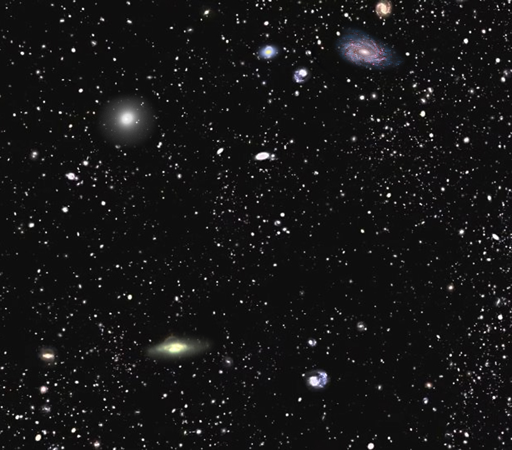 Largest Map of Universe Yet Captures 1 Million Galaxies