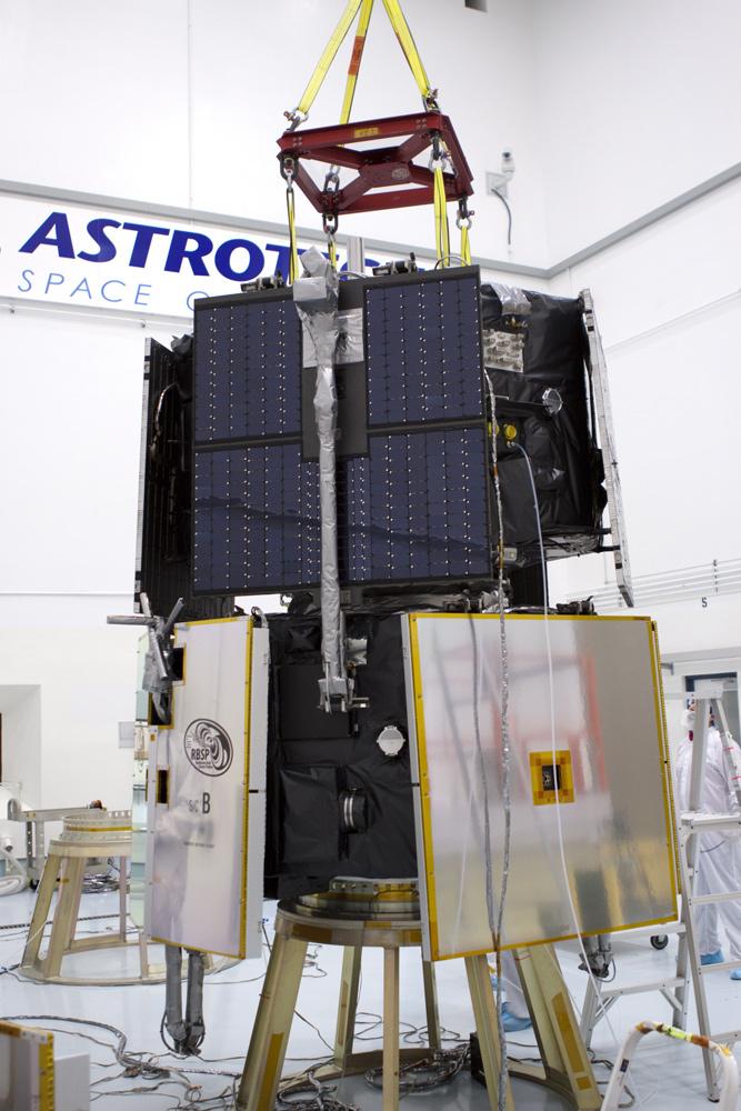 RBSP Spacecraft A on RBSP B