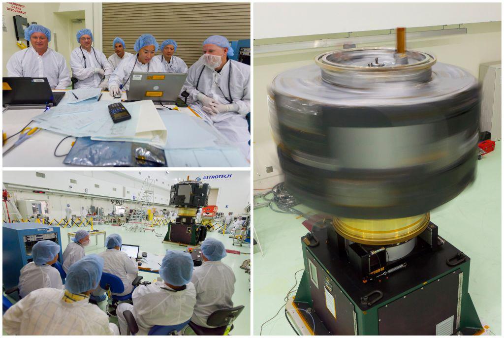 RBSP Spacecraft B's Spin