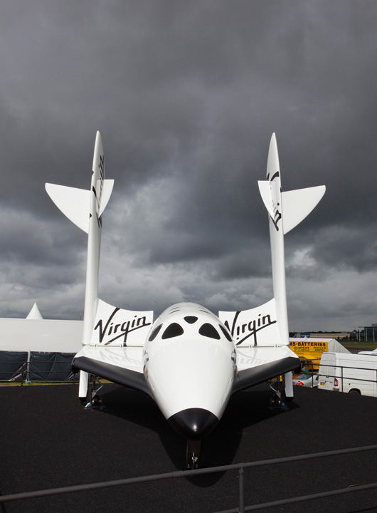 Full Size Virgin Galactic SpaceShipTwo Replica
