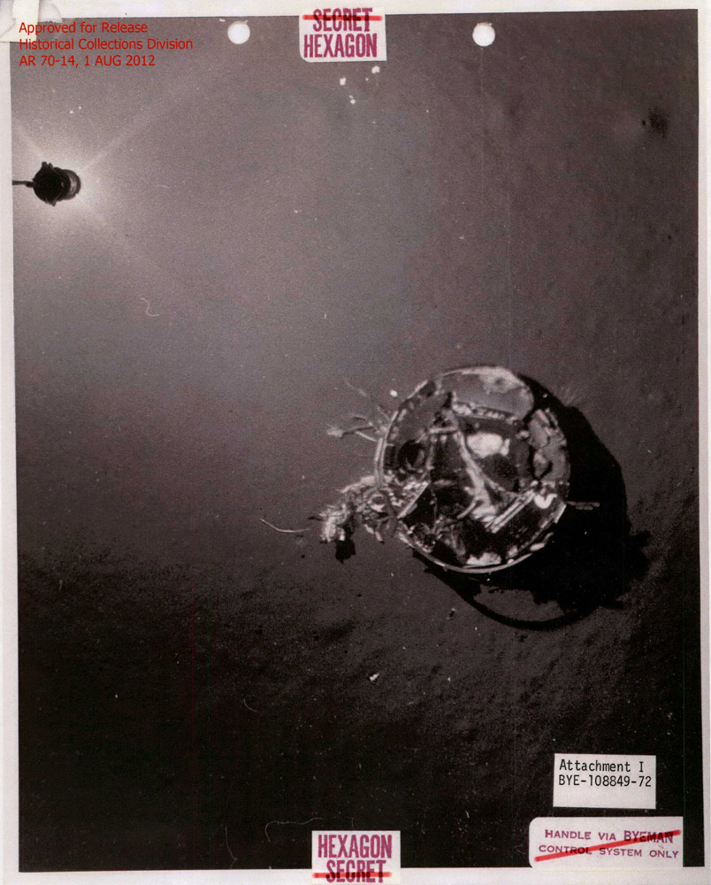 CIA Declassifies Amazing 1972 Spy Satellite Capsule Deep-Sea Rescue