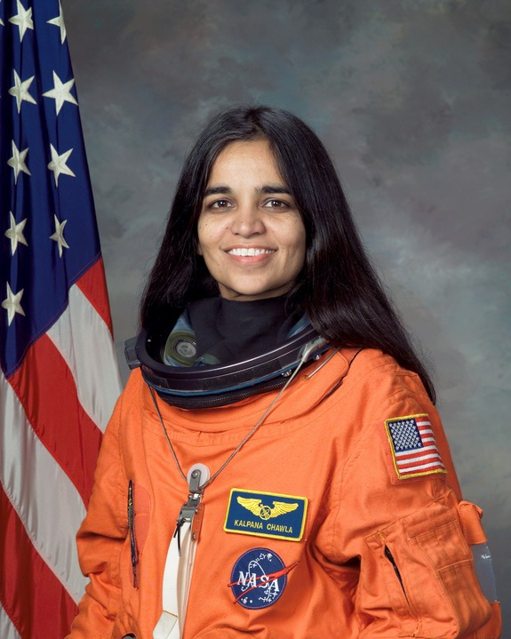 Kalpana Chawla flew on two shuttle missions.