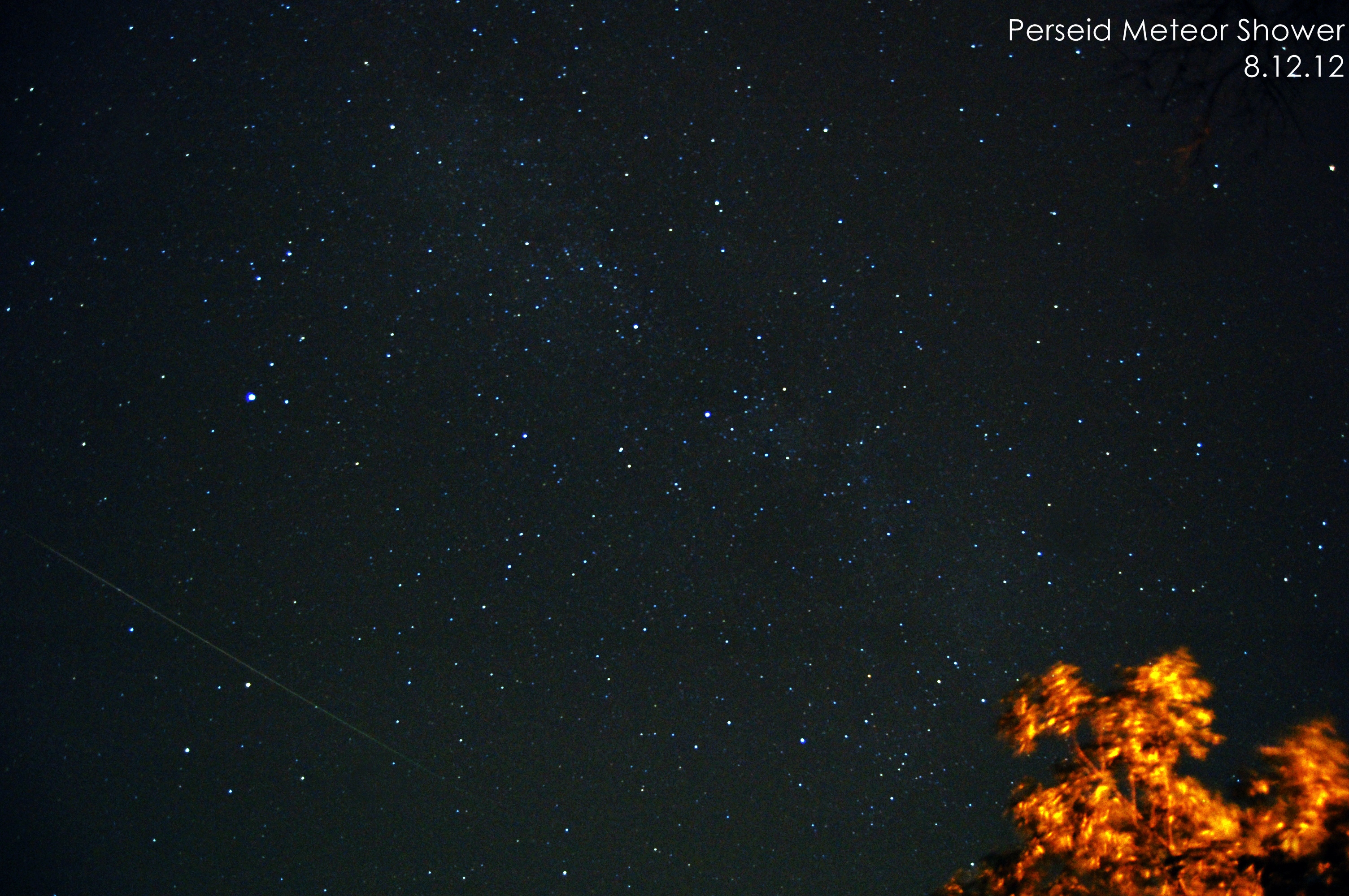 Perseid Meteor Shower 2012: Adrian Gutierrez