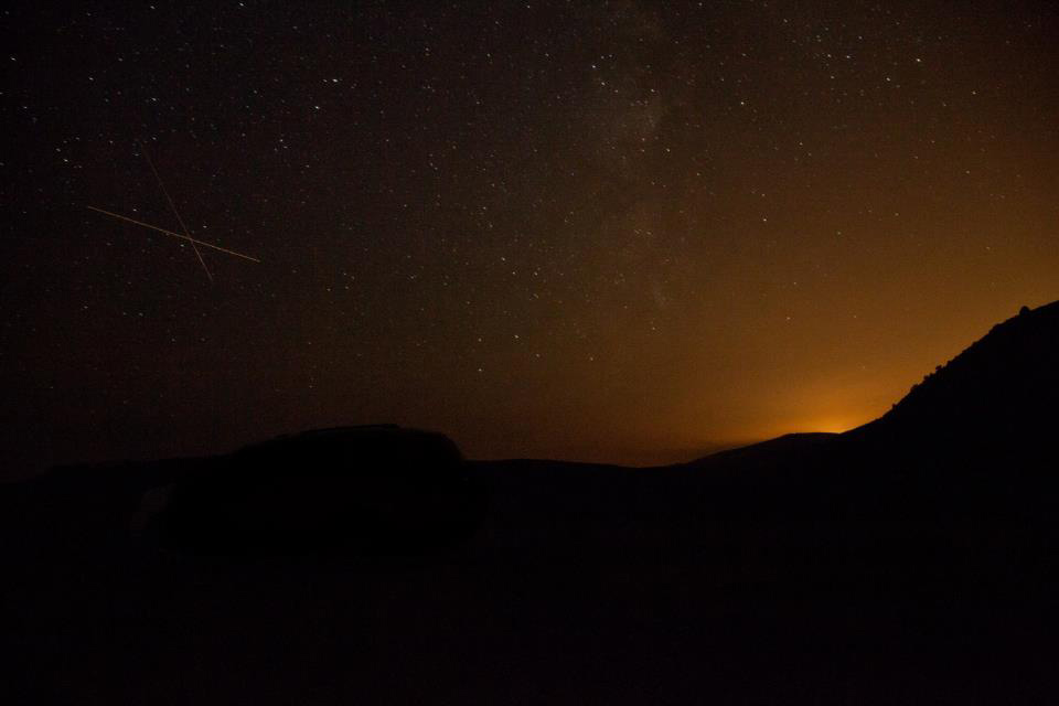 Perseid Meteor Shower 2012: Greg S. Kornmueller