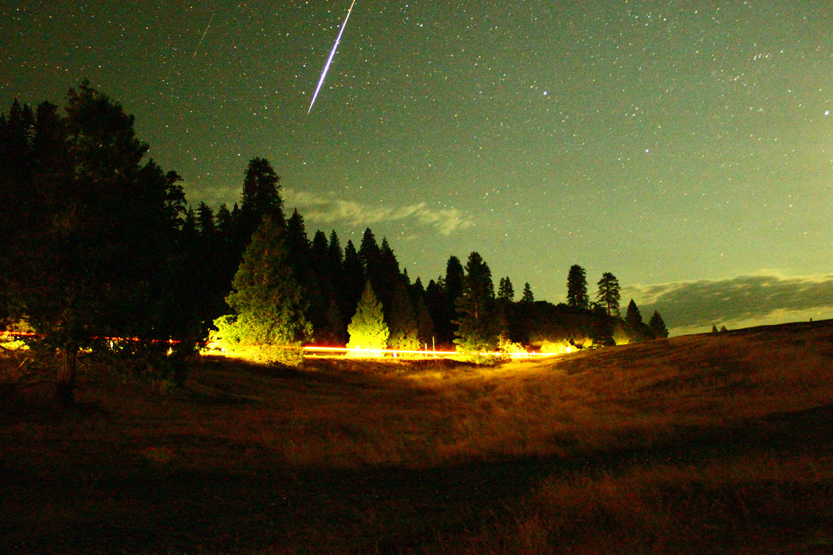 Perseid Meteor Shower 2012: John Brickley