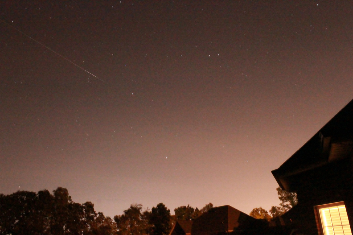 Perseid Meteor Shower 2012: Madison Jindrak