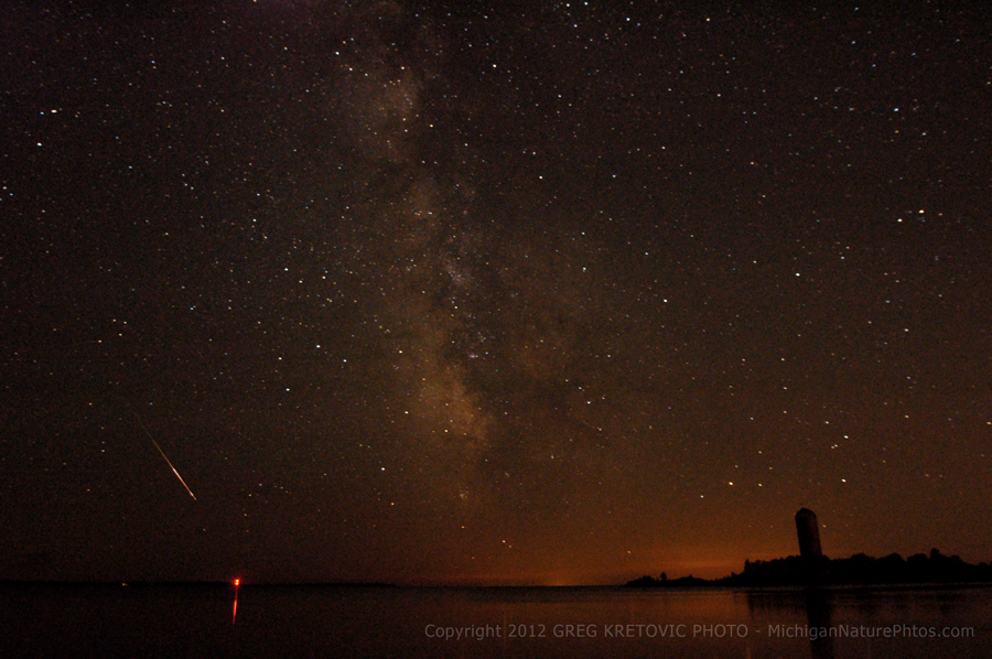 Perseid Meteor Shower 2012: Greg Kretovic