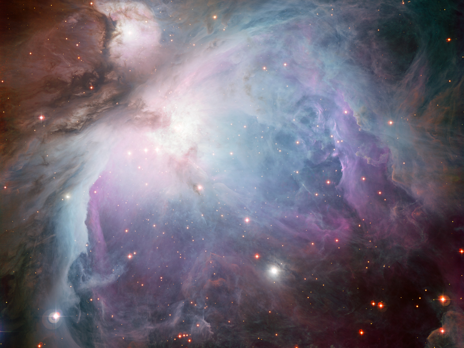 The Orion Nebula 1600