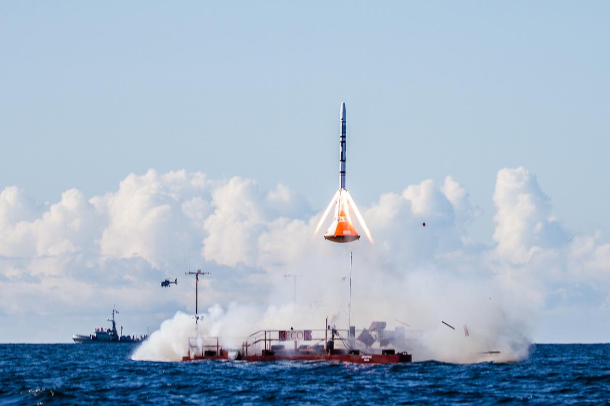 Copenhagen Suborbitals LES/TDS Launch