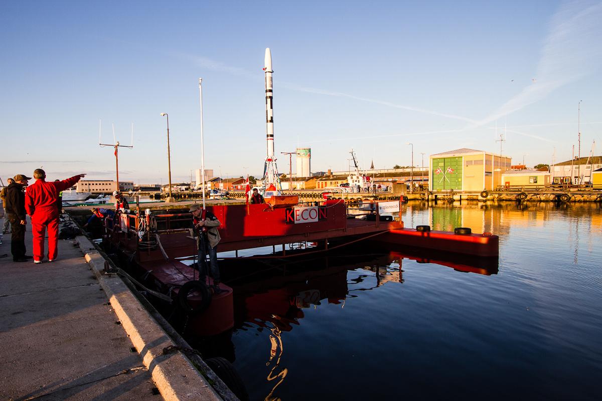 Copenhagen Suborbitals' Rocket Test Begins