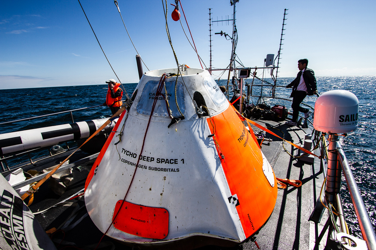 Tycho Deep Space Capsule Recovered
