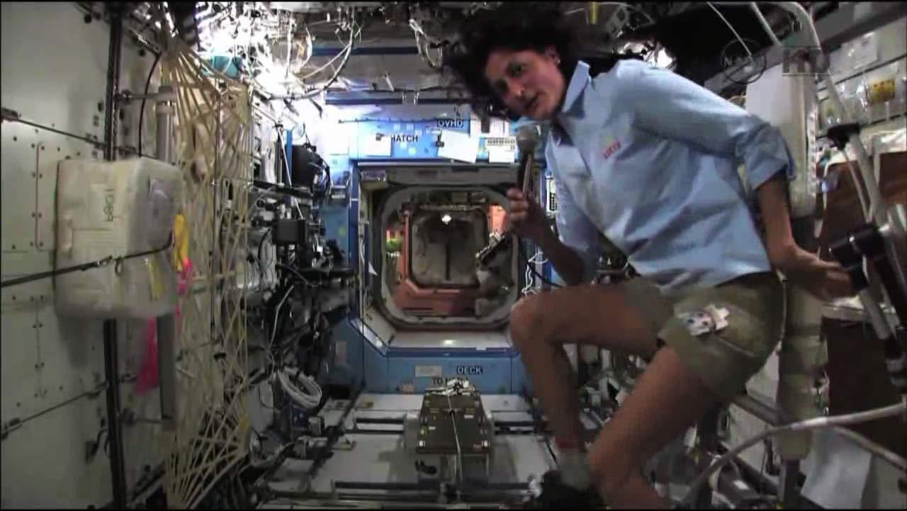 Space Station Astronaut Trains for Zero-Gravity Triathlon ...