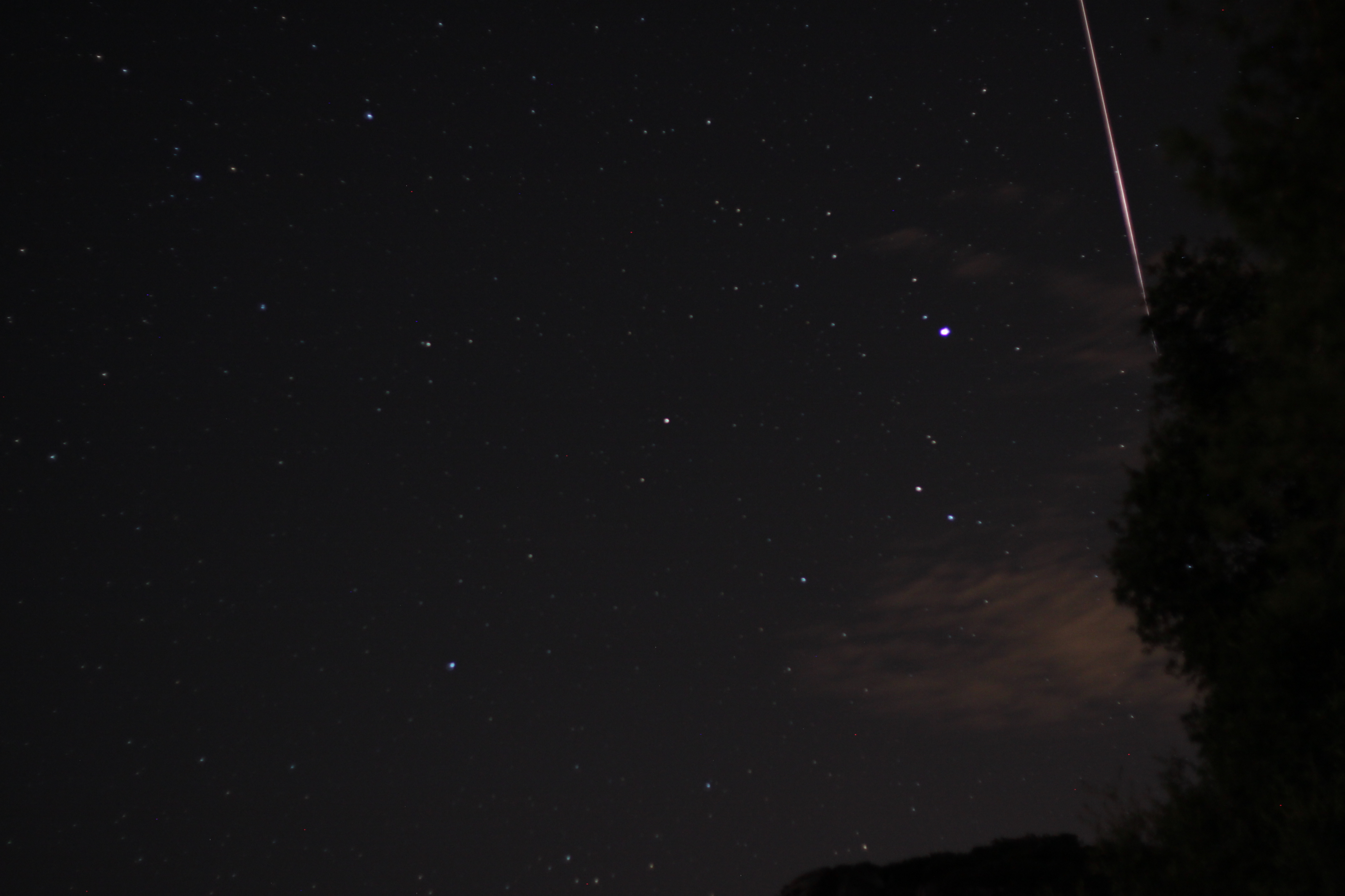 Photographer Catches 'Shooting Star' from Perseid Meteor Shower (Photo)