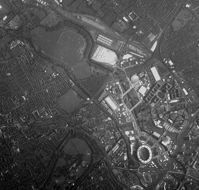 Satellite Snaps Farewell Photo of Olympic Park from Space