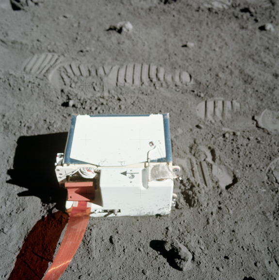 The Lunar Atmosphere Composition Experiment (LACE), deployed by Apollo 17 astronauts in 1972, provided the first measurements of helium in the moon's atmosphere.
