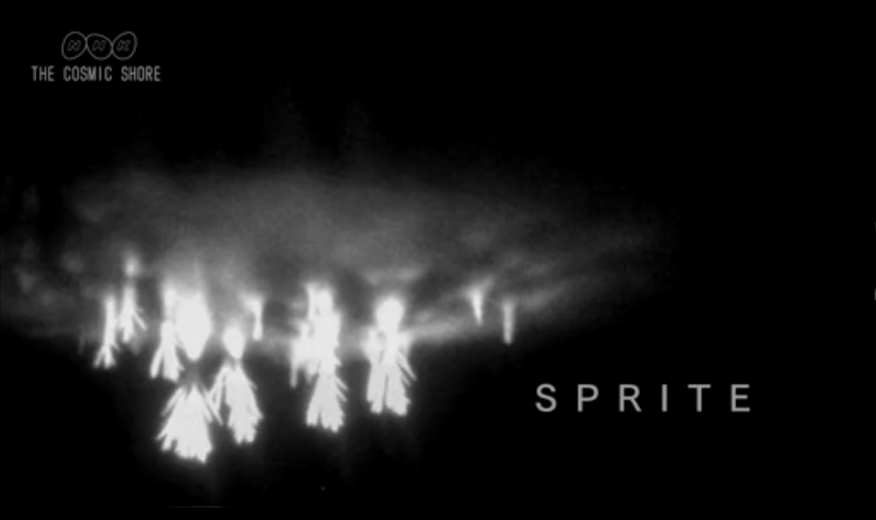 Elusive Sprite Lightning Caught On Film