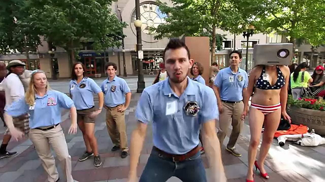 'We're NASA and We Know It': Hilarious Music Video Spoofs Mars Rover Team