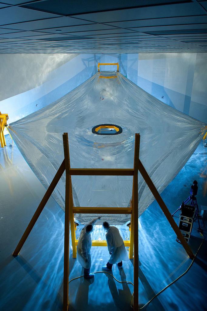 James Webb Space Telescope's Sunshield Membrane