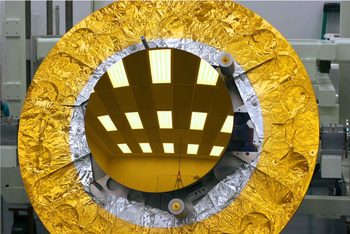 James Webb Space Telescope Secondary Mirror