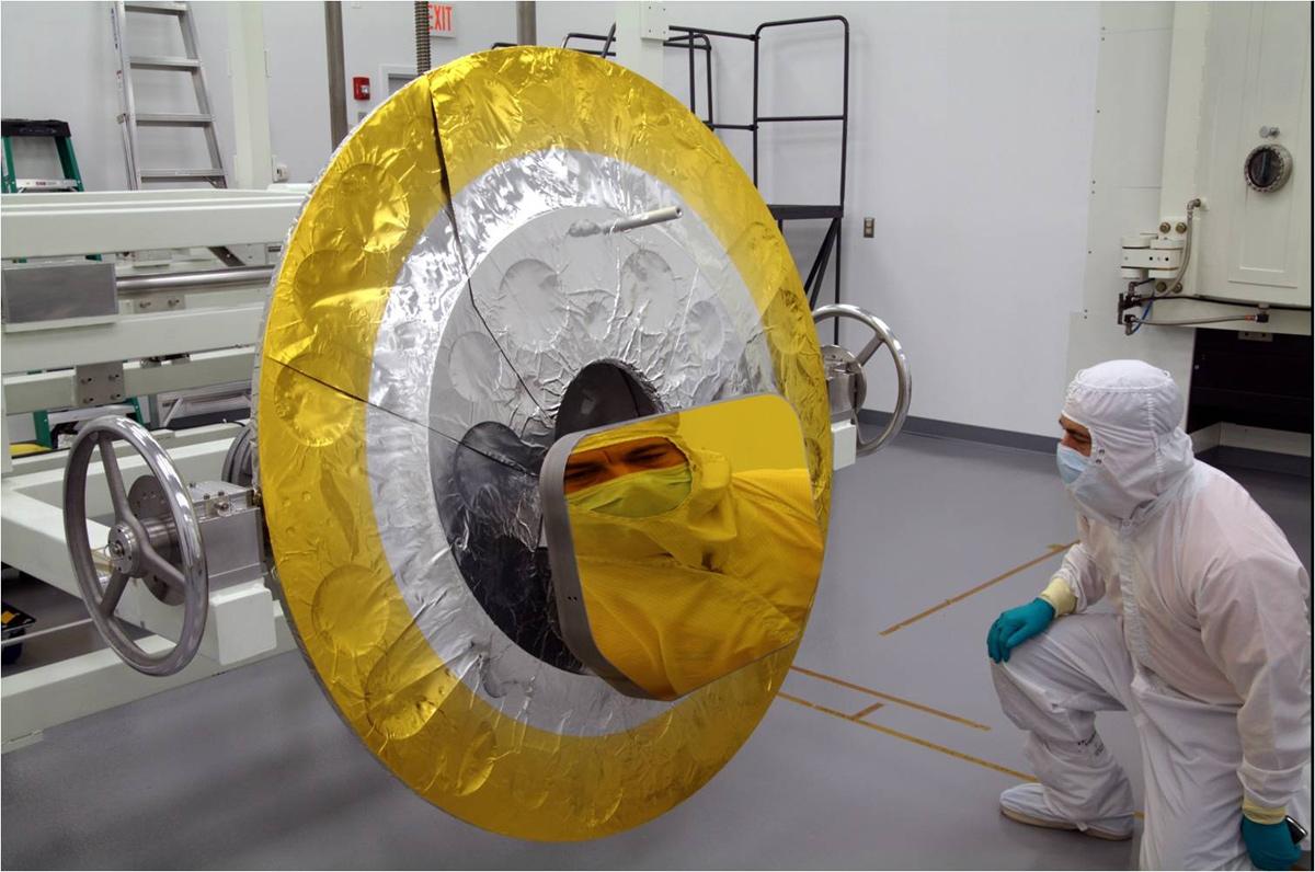 James Webb Space Telescope Tertiary Mirror