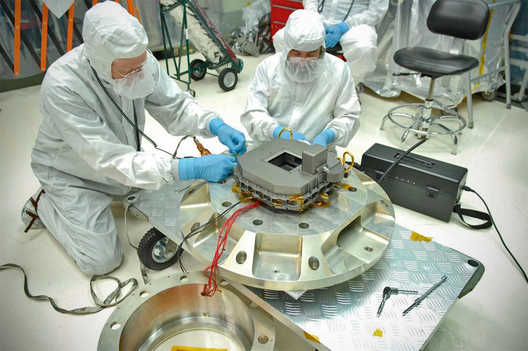 NIRSpec Microshutters for James Webb Space Telescope