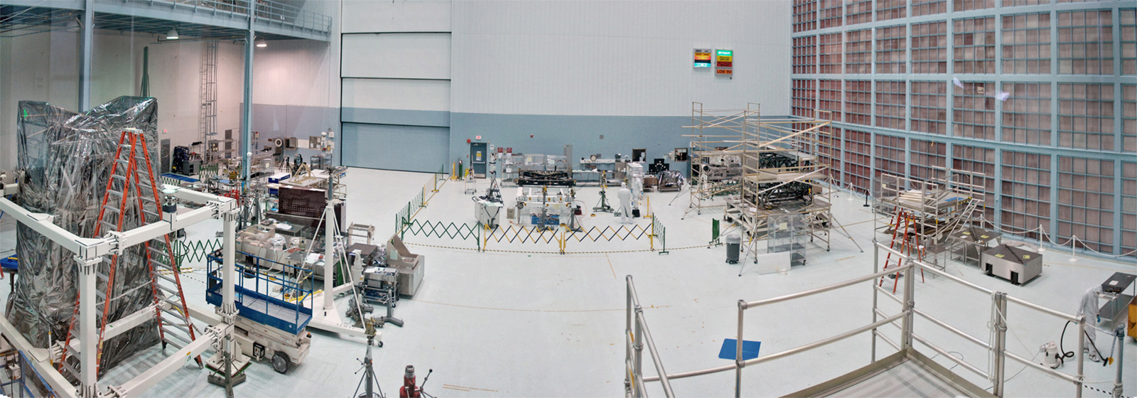 Space Systems Development and Integration (SSDIF) Cleanroom at NASA's Goddard Space Flight Center