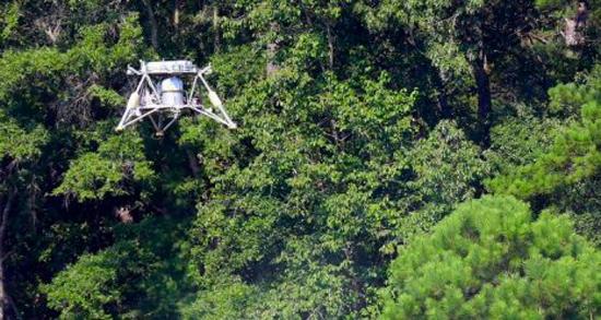NASA Mighty Eagle Lander Test Flight