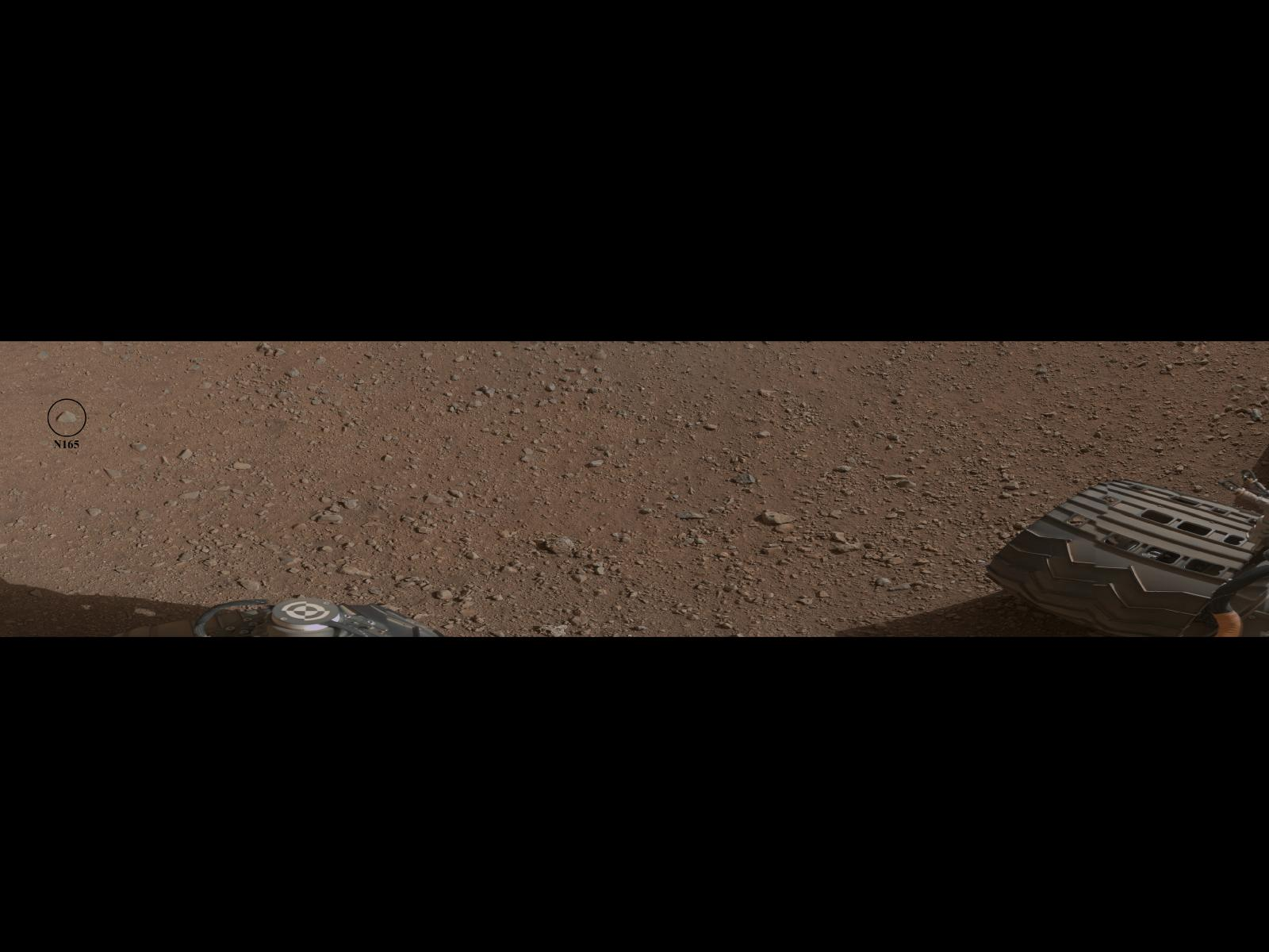 Mars Rover to Test Rock-Zapping Laser, 1st Drive Set