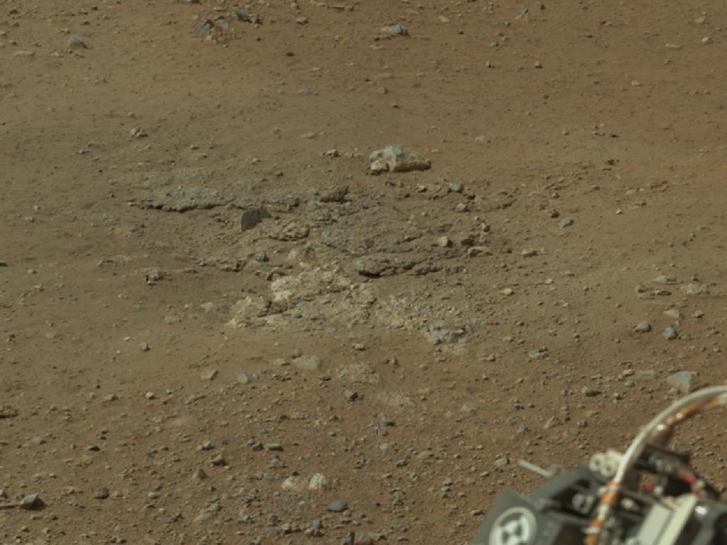 Goulburn Mars: Curiosity Rover's Scour Mark