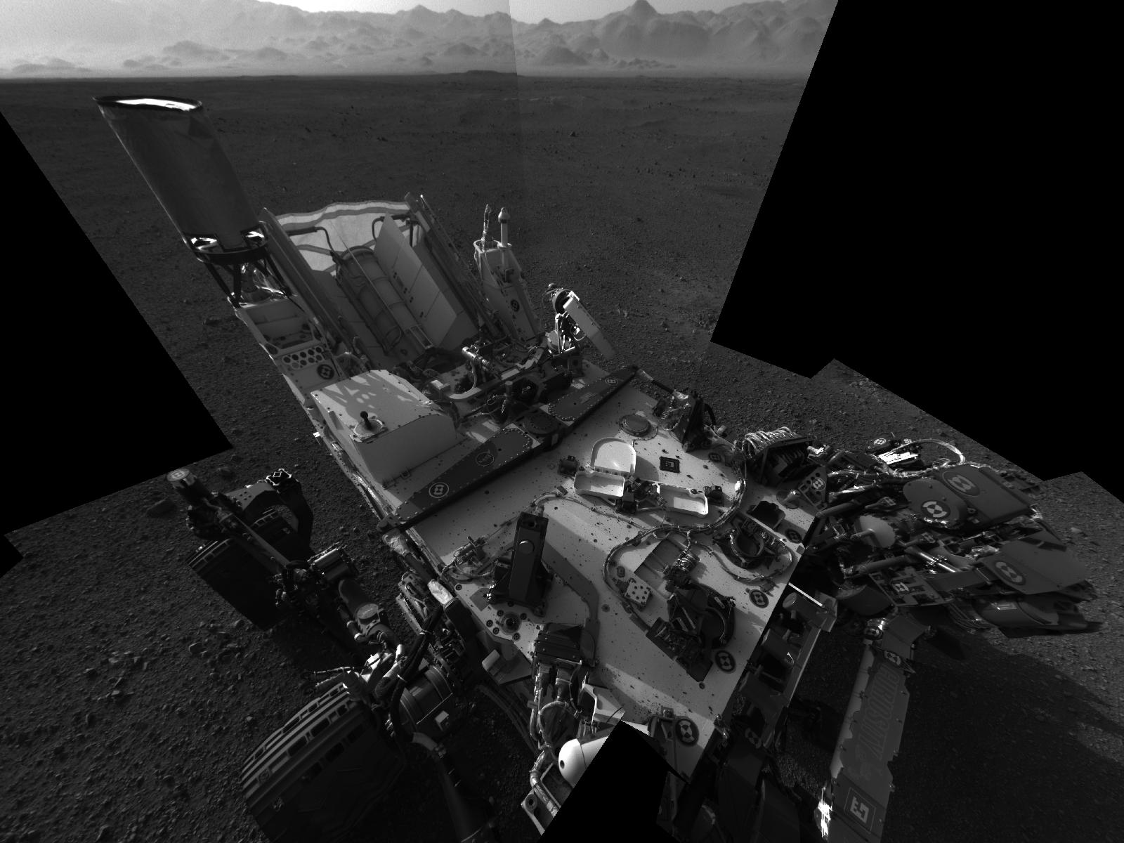 Mars Rover Curiosity to Take 1st Martian Drive This Week