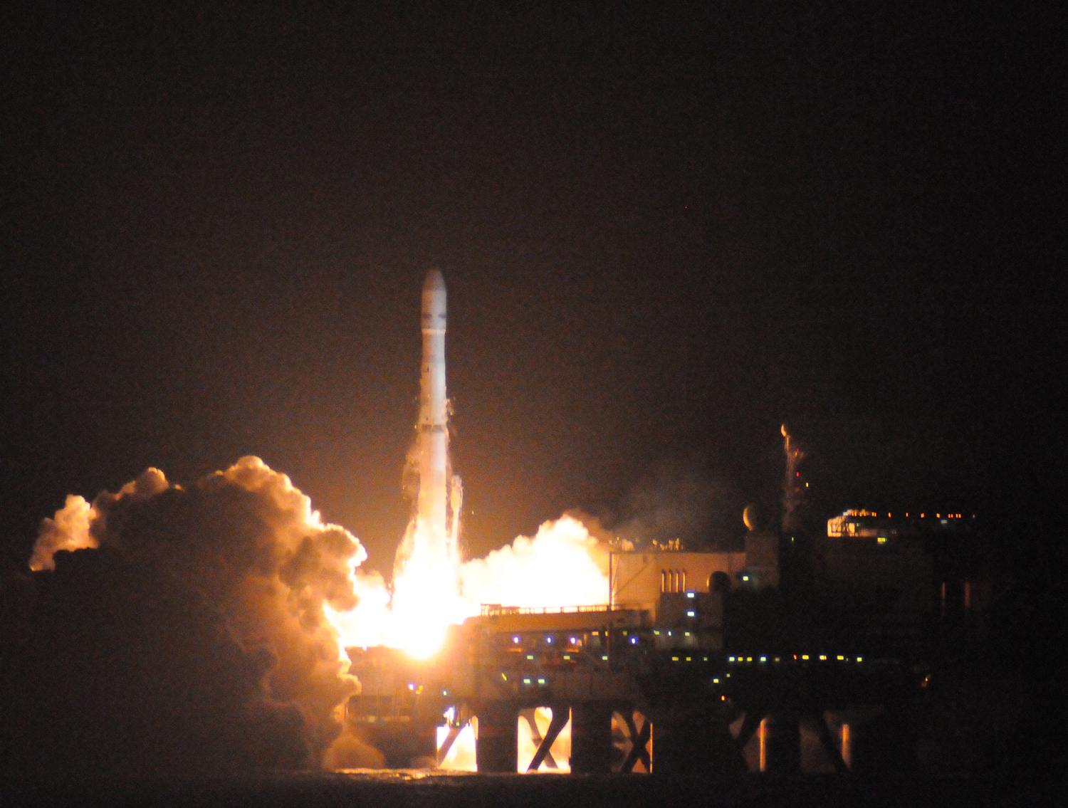 Sea Launch Rocket Lofts TV Satellite Into Orbit