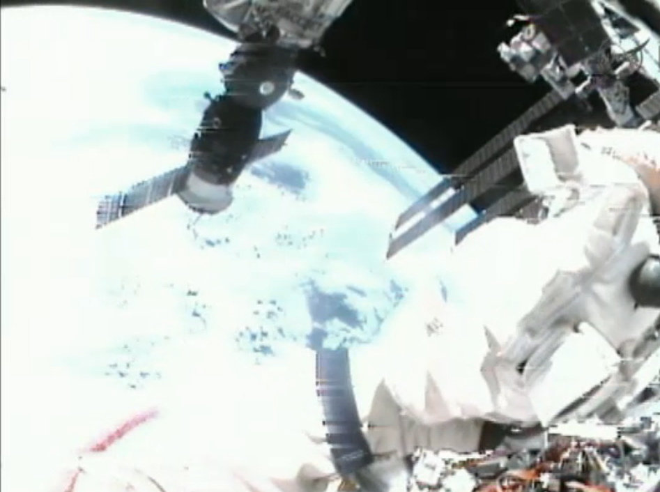 Cosmonaut's View of Earth: Aug. 20, 2012 Spacewalk