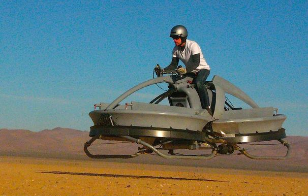 New Hover Vehicle Recalls 'Star Wars' Bike