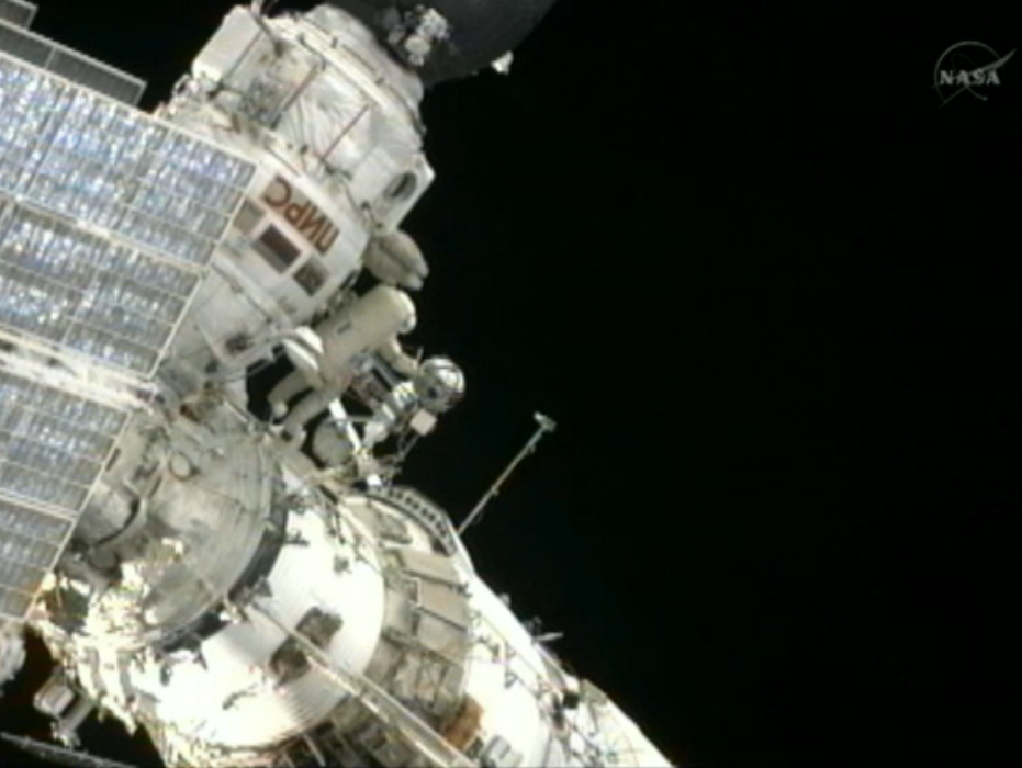 Photos: Spacewalking Cosmonauts Upgrade Space Station (Aug. 2012)