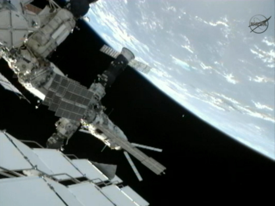 Satellite Tossed from Space Station: Expedition 32