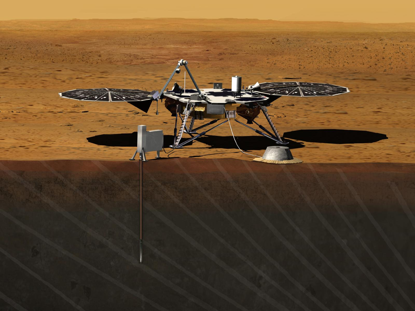 NASA Unveils New Mars Mission to Probe Red Planet's Core