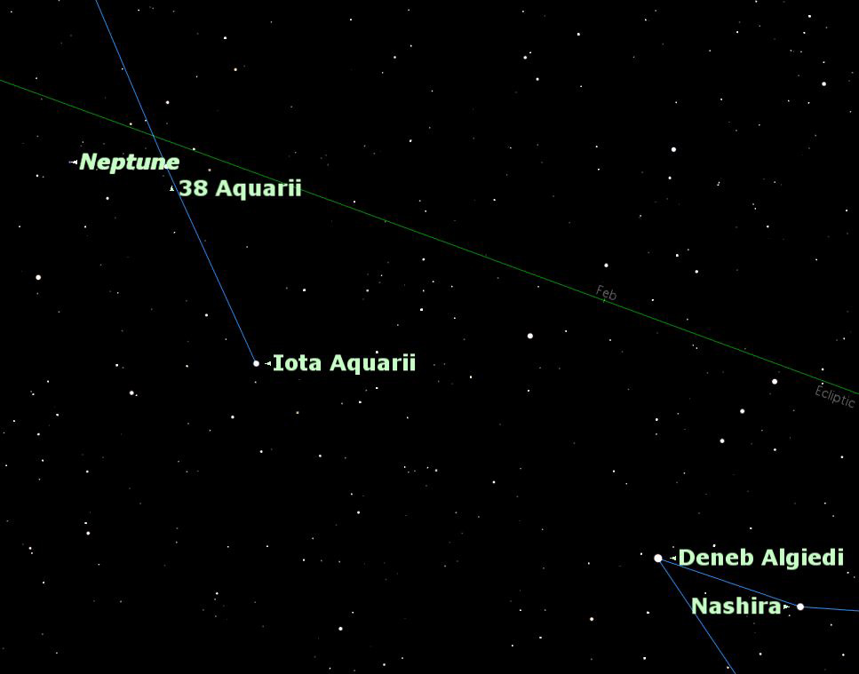 How to Spot Neptune in Night Sky Friday