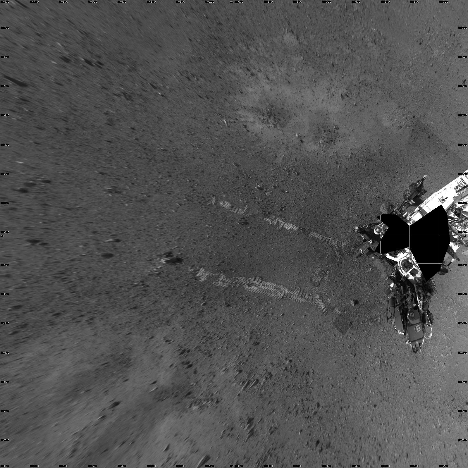 Bradbury Landing on Mars